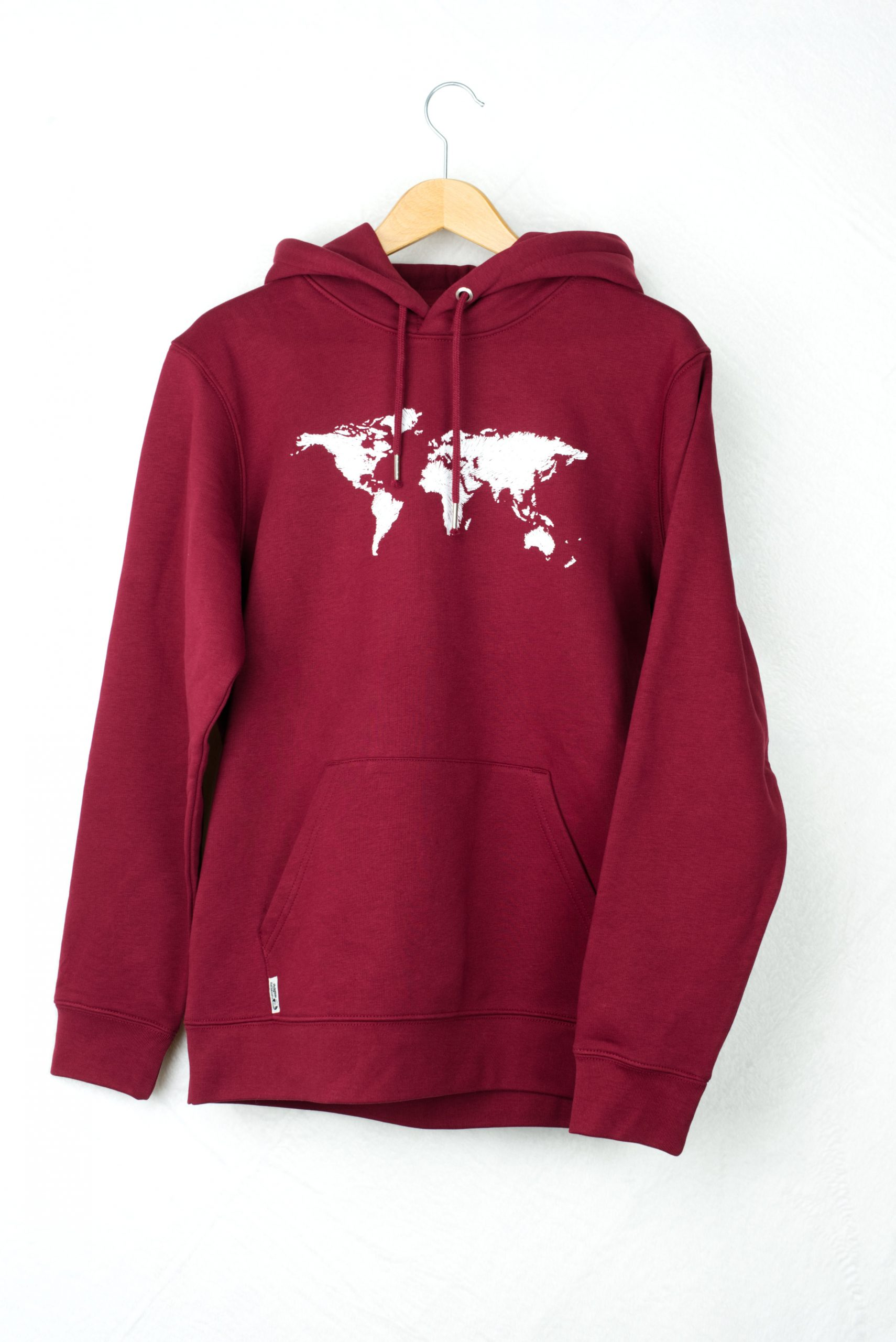 Our Planet Hoodie Red